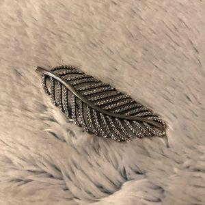 Pandora Feather Pendant